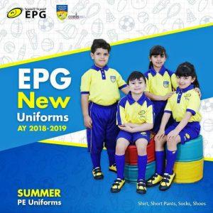 The English Playgroup School Uniform