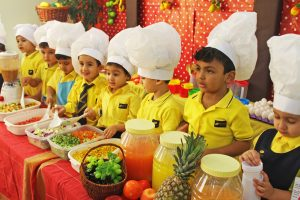 The English Playgroup School Healthy Meal