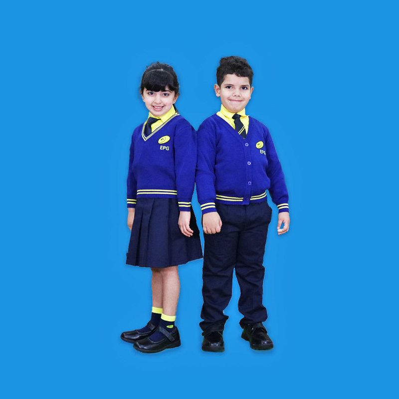 The English Playgroup School Uniform