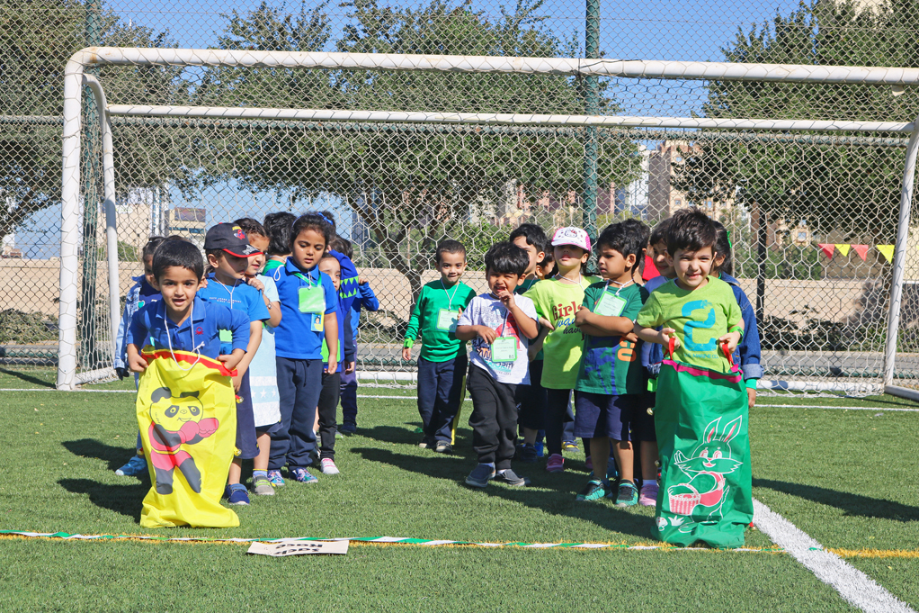 The English Playgroup School Sports Day
